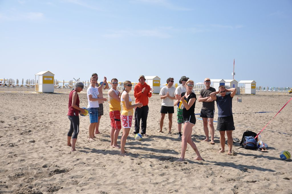 Volleyball Trainingscamp Caorle 2012